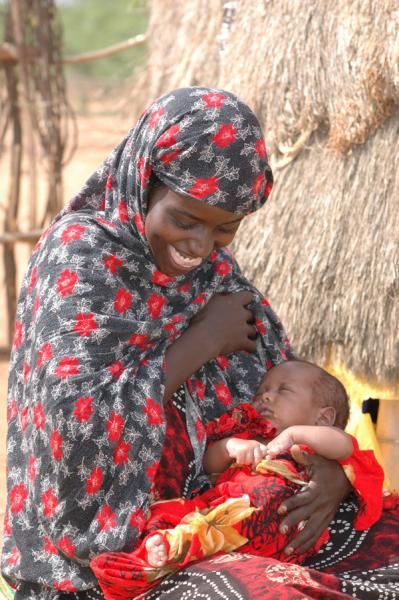 Quelle: UNICEF Deka and Mohammed_an emergency caesarean paid for by UNICEF saved their lives in Garissa, NE Kenya